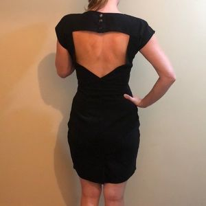 Valérie Dumaine Dress Open Back Made in Canada